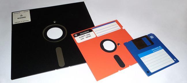 Disketten fra Sony skubbede Floppy Disketten af markedet.