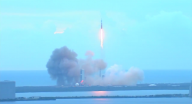 Orion Soars succesfuld opsendelse - Video af raketten
