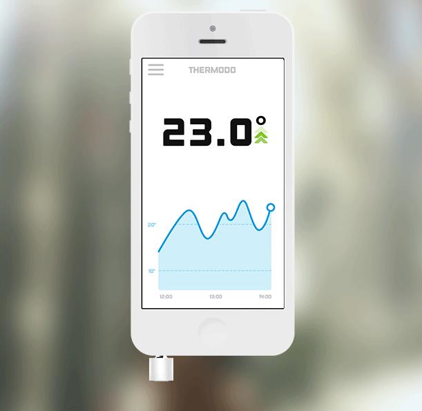 Thermodo termometer stik til din smartphone