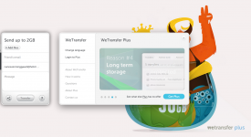 Med Wetransfer kan du sende store filer nemt og hurtigt - Gratis