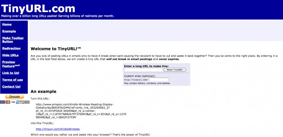 Gratis program til omskrivning af lange eller grimme webadresser og links.